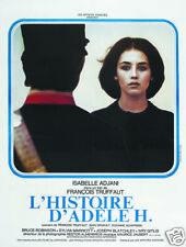 Story of Adele H. Isabelle Adjani vintage movie poster