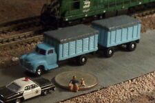 Farm Truck and Trailer Covered Grain N Scale Vehicles