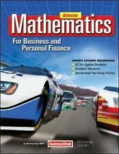 Mathematics For Business And Personal Finance by Walter H Lange