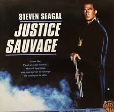 LASERDISC - JUSTICE SAUVAGE - VF PAL WS  - STEVEN SEAGAL