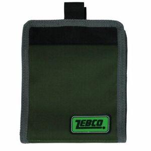 Zebco Medium Rig Wallet Bag with 10 Grip Seal Pouches Sea Coarse Carp