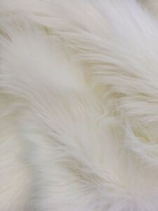 """Shaggy Faux Fur Fabric /12""""x12"""" Square - Assorted Colors"""