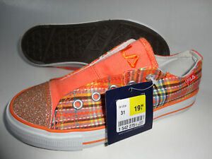 NEU FILA Kinder Ballerina Schuhe Gr.31 orange zu Jacke Kleid Hose