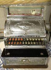 Antique National Cash Register Brass - Stevensons of Manchester England - #348