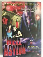 Hell Asylum (DVD, 2003) Limited Special Edition, Full Moon Horror Film, Region 1