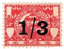 (I.B) George V Revenue : Unemployment Insurance 1/3d