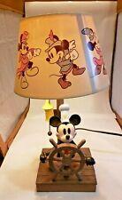 Retro Disney Mickey Mouse Lamp Resin 15� Tall 6� Base Item #28987 Rare