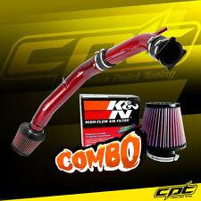 03-07 G35 3.5L V6 Manual Red Cold Air Intake + K&N Air Filter