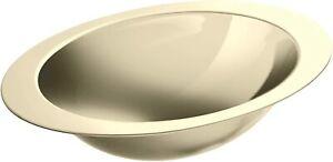 "Kohler K-2602-MF Rhythm 18"" Stainless Steel Undermount Bathroom Sink French Gold"