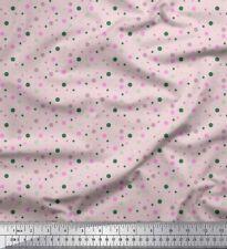 Soimoi Fabric Polka Dots Print Fabric by the Yard - DT-7H