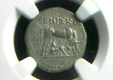 Greek Silver Drachm from Dyrrihachium in Illyria 300-100 BC NGC XF   6002
