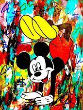 Original DAV Signed W/COA*** Andy Warhol Peter Max Dillon Boy Art