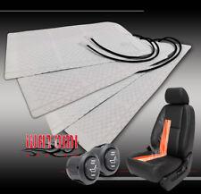 2X UNIVERSAL HEATED SEAT HEATER PAD +HI/LOW SWITCH SIERRA CIVIC ODYSSEY CHEROKEE