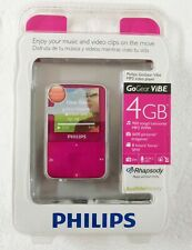 Philips GoGEAR MP3 video player SA1VBE04PW/17 PINK Sealed