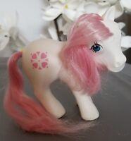 MY LITTLE PONY G1 White Sundance Pink Hair Hong Kong 1983 MLP