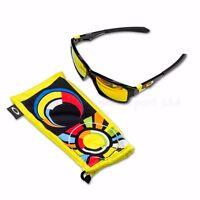 OAKLEY Jupiter Squared Valentino Rossi VR46 Signature Sunglasses Black / Iridium