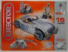 Erector Design 4 15 Models 424 Parts Parts 2008 Meccnao Mip