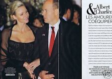 Coupure de presse Clipping 2011 Albert & Charlene la Ceremonie (44 pages)