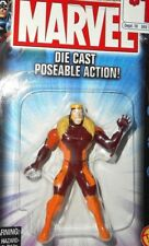 marvel universe toy biz 2002 SABRETOOTH x-men DIE CAST METAL Poseable action