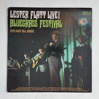 LESTER FLATT Live Bluegrass Festival APL10588 LP Vinyl VG+ near ++