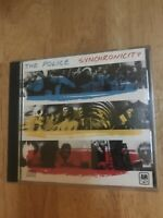 The Police Synchronicity US CD Initial Issue
