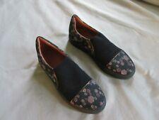 DRIES VAN NOTEN slip on flat heel patterned shoes 38 6 6.5 7