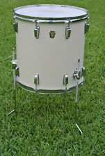 """80s Ludwig Chicago Era 16"""" CLASSIC SERIES WHITE FLOOR TOM for YOUR DRUM SET B905"""