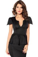 Patternless Women's All Seasons Mini Dresses