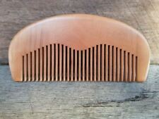 Wooden Unisex Hair Fine Toothed Combs