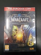WORLD OF WARCRAFT BATTLE FOR AZEROTH empty PC game box only NO GAME