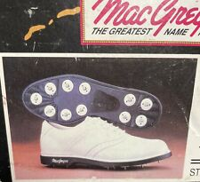 MacGregor Men's Classic Saddle Golf Shoes