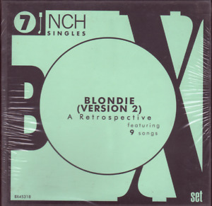 "Blondie – A Retrospective (Version 2). 7"" Box Set (5 Singles). Mint. Sealed"