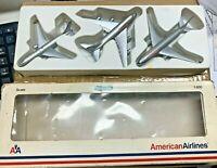 RARE 3 American Airlines Boeing Die Cast Model Airplanes 1/600 747SP 767-300 777