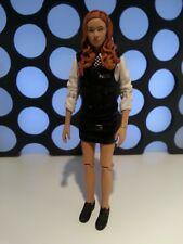 "Doctor Who Amy Pond POLIZIOTTA kissagram Stripper Police Woman 5"" Figura"