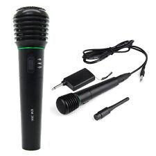 G771 2 en 1 Microfono de mano inalambrico y con alambre Sin alambres y con alamb