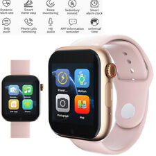 Women Girls Smart Watch Bluetooth Call For Android Samsung S10 S9 A10e A20E ASUS