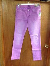 New With Tags Aeropostale Bayla Skinny Jeans size 7/8 Purple Lavendar