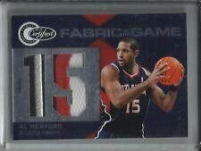 Al Horford 10/11 Panini Totally Certified Game Used Jersey Patch #10/25
