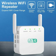 300Mbps WiFi Range Extender Signal Booster Amplifier Internet Wireless Repeater