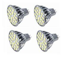 Pack of 4 LED Bulbs, MR16 LED Cool White 120V Bi-Pin GX5.3 G5.3 Base