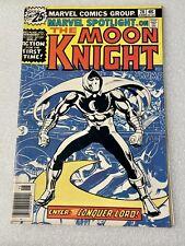 Marvel Spotlight 28 1st Solo Moon Knight Gemini Ship Bronze Age Key 1976