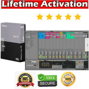 Ableton Live 10 Suite Lifetime Version ✅ MAC & Windows ✅ Fast Delivery 🚀