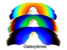 Galaxy Replacement Lenses For Oakley M2 Frame Blue&Green&Red Polarized 3 Pairs