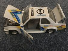 Vintage 1980's Burago Opel Ascona 400 Rally Dan Block Car 1/24th Scale Bburago