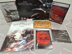 The Witcher 1 Big Box Ultra Rare Collectors Edition with Artbook