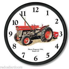 New MASSEY FERGUSON Tractor Clock Model 135 Vintage 1964 Tractor Farmer Soil