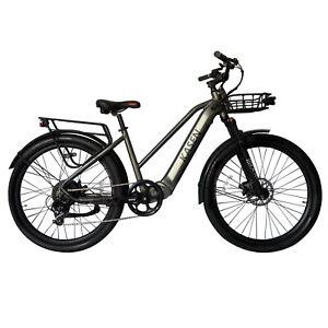 Electric Bike Step Thru for Men and Women 500w Rear Hub Motor Urban Citi Bike