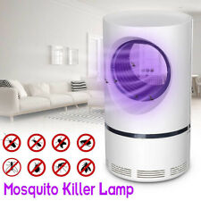 Home Bedroom Mosquito Killer Lamp Pest Repeller Zapper Insect Trap USB Charged~