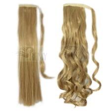 Haarteil Pferdeschwanz Zopf Clip In Extensions Haarverlängerung 100g , 130g