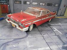 PLYMOUTH Fury 1958 TV Movie Kino Filmauto Christine DIRTY + Licht ERTL 1:18